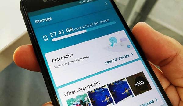 Como liberar espacio en un celular