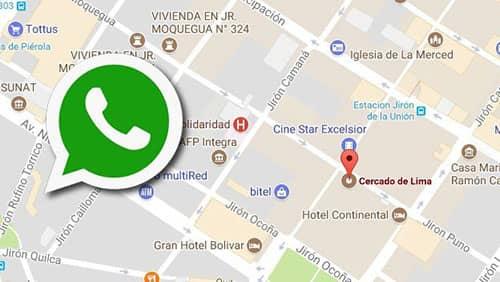 como ubicar un celular por whatsapp